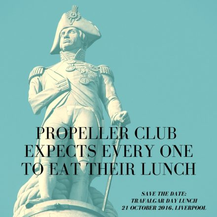 propeller club expects every one to eat their lunch