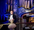 Chris and his magnificent organ